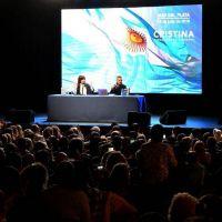 """Cristina llamó en Mar del Plata a """"organizarse para que esto cambie"""""""