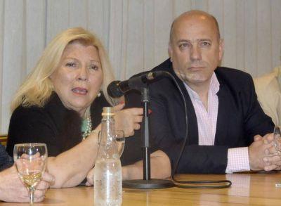 """Carrió dura con Castello: """"Desprecio a la gente que solo usa los partidos para obtener cargos…los desprecio"""""""