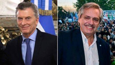 Igualados en intención de voto, Macri y Fernández trabajan para alcanzar el 45% en octubre