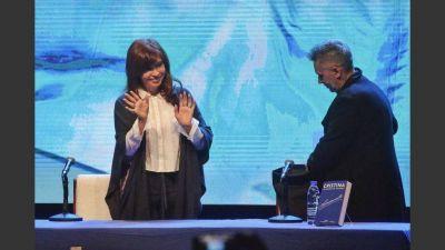 Cristina en Mar del Plata pidió ponerle