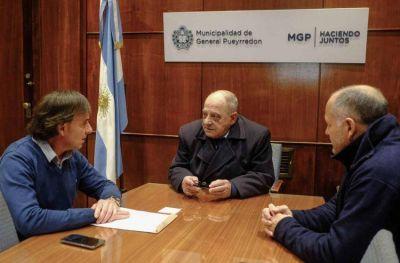 Arroyo se reunió con titulares de OSSE y ADA para coordinar tareas que ayuden a los barrios del sur