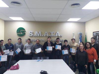 Entrega de diplomas de Convenio SMATA - Ministerio de Trabajo y Educación