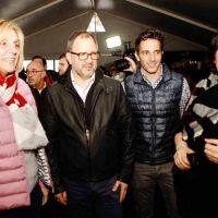 """Baragiola recorrió la Feria: """"Una propuesta bien marplatense al alcance de todos"""""""