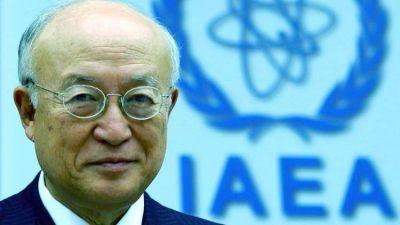 Murió Yukiya Amano, director general del Organismo Internacional de la Energía Atómica