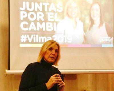 """Vilma: """"Juntas, con Maria Eugenia, vamos a mejorar la vida de nuestros vecinos"""""""