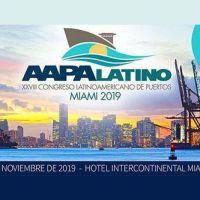 El XXVIII Congreso Latinoamericano de Puertos de la AAPA se realizará en Miami
