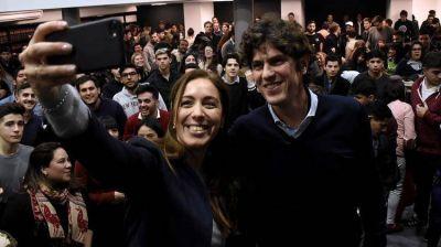 Martín Lousteau compartió un acto con María Eugenia Vidal en busca del voto joven y universitario bonaerense