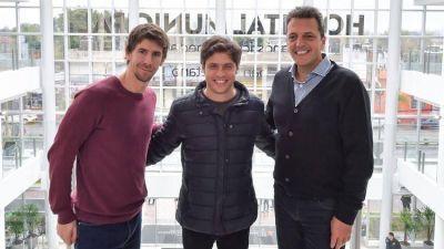 Sergio Massa, Máximo Kirchner y Axel Kicillof compartieron un asado en Tigre para reforzar los puntos débiles de la campaña
