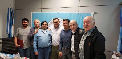 Petroleros Jerárquicos recibieron a sus Jubilados de Caleta Olivia
