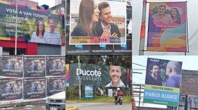 En el Conurbano, la campaña callejera de