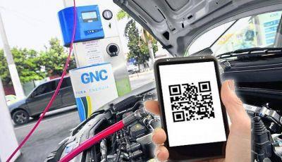 La oblea de GNC se controlará a través de una aplicación móvil