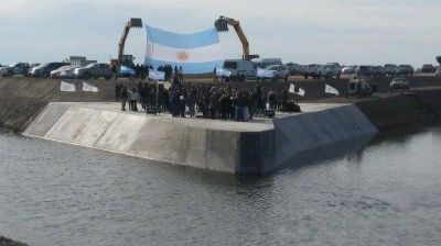 Inauguraron la obra hidráulica más importante del Sudoeste Bonaerense