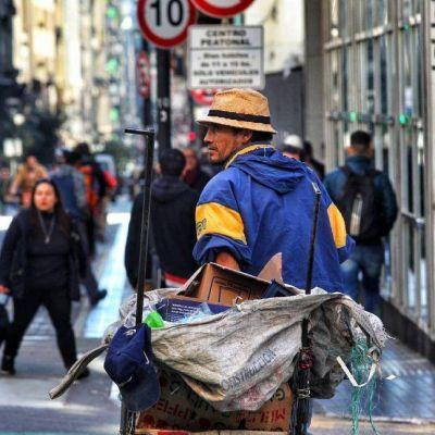 Más pobreza en la ciudad