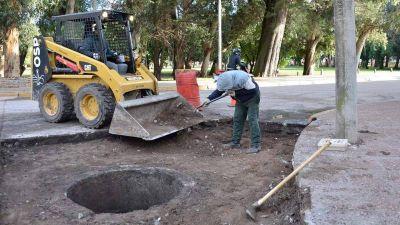 Servicios Públicos avanza con variados trabajos en Necochea y Quequén