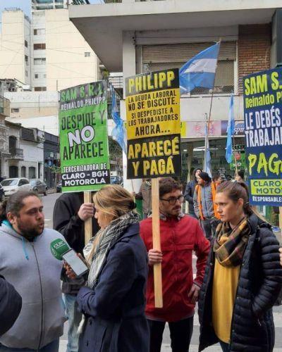 Rosario: una empresa de electrónica cerró sus puertas y dejó a 25 trabajadores en la calle