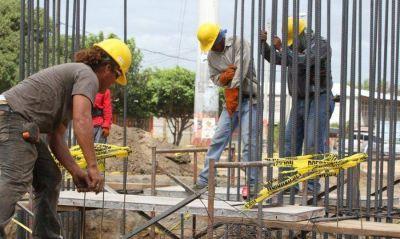 El empleo formal en la construcción bajó un 2% en mayo