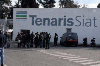 140 trabajadores de la planta Siat-Tenaris con suspensiones rotativas