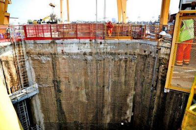 Los secretos del megatúnel que se construye en las entrañas del Río de la Plata
