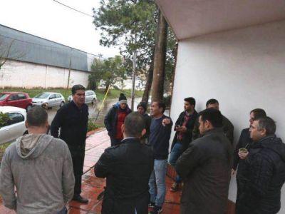 Capitanich verificó un operativo de limpieza y obras de desagües en Villa San Martin