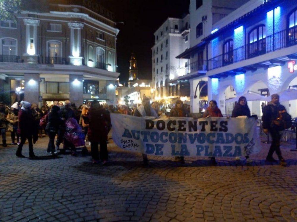 Gremios de educación se suman al paro de Docentes Autoconvocados en Salta