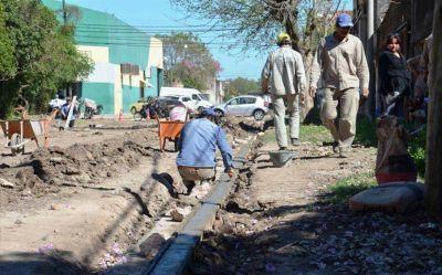 Aguardan financiamiento para las obras de desagües pluviales en la ex Vía