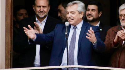 Perotti se puso al hombro la campaña de Alberto en Santa Fe y confían en descontar los votos de Córdoba