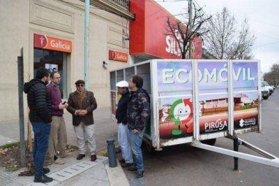 Martín Torre implementará el Ecomóvil y los Puntos Verdes