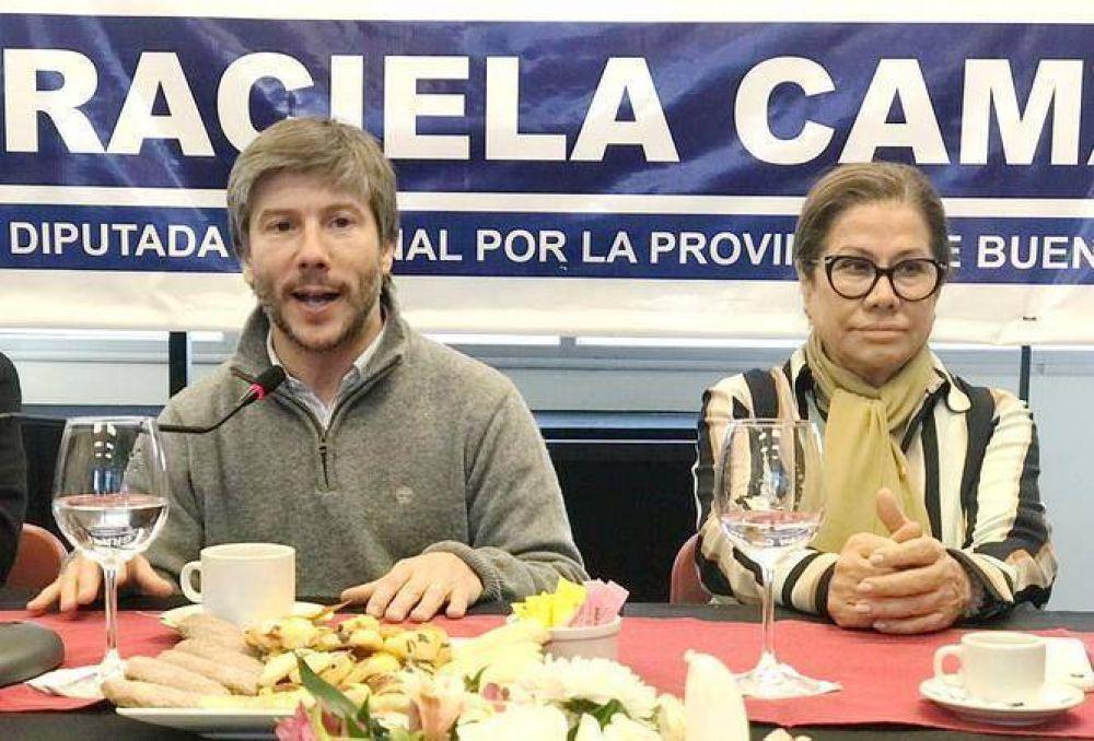 """Graciela Camaño pasó por Mar del Plata y remarcó que """"Bonifatti es un lujo de candidato"""""""