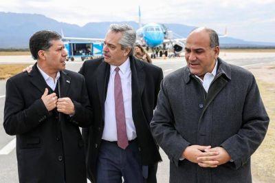 Apoyo dispar de los gobernadores del PJ a la campaña territorial de Fernández