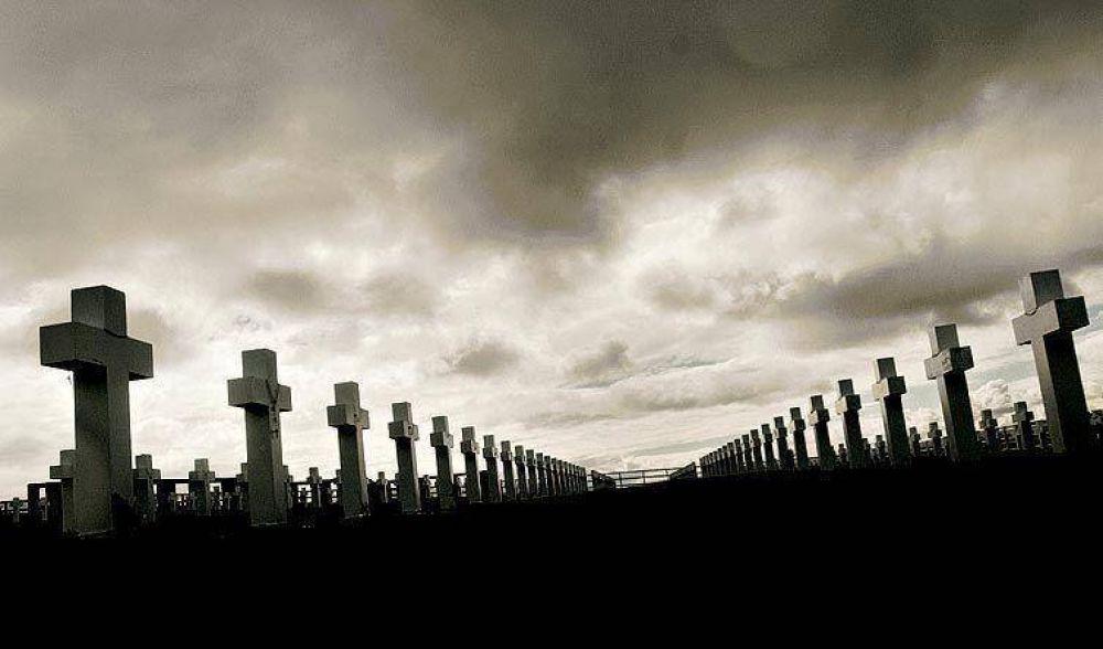Cristina despide a familiares que viajan a Malvinas a rendir tributo