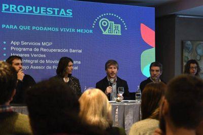 Bonifattti presentó las propuestas de Consenso Federal para Mar del Plata