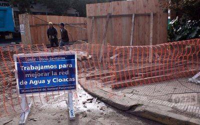 Un caño de Osse pasa frente a sus barrios pero ellos tienen agua contaminada