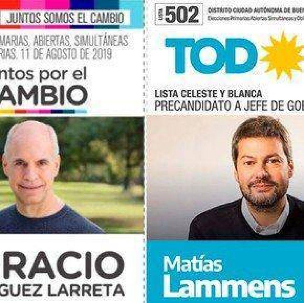 La otra polarización: Horacio Rodríguez Larreta le saca amplia ventaja a Matías Lammens, pero los dos miran el balotaje