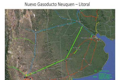 Licitan un gasoducto hasta Buenos Aires para potenciar Vaca Muerta y reducir la importación de gas