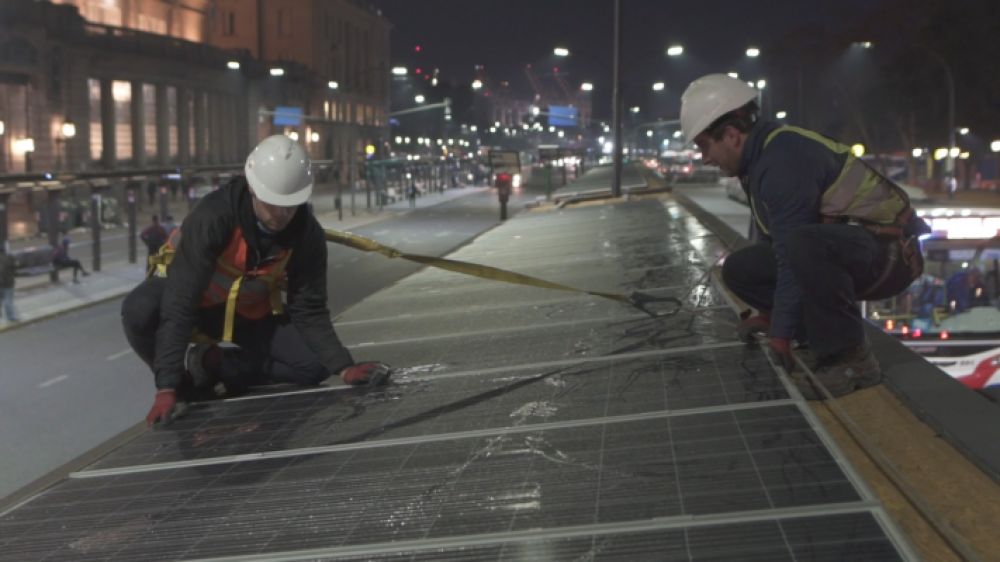Gobierno porteño instaló 400 paneles solares en el Centro de Trasbordo Retiro