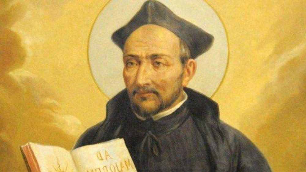 El Papa recuerda a Ignacio de Loyola, atraído por la gloria de Dios