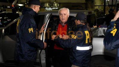 El sindicalista portuario Herme Juárez está alojado en la cárcel de Ezeiza