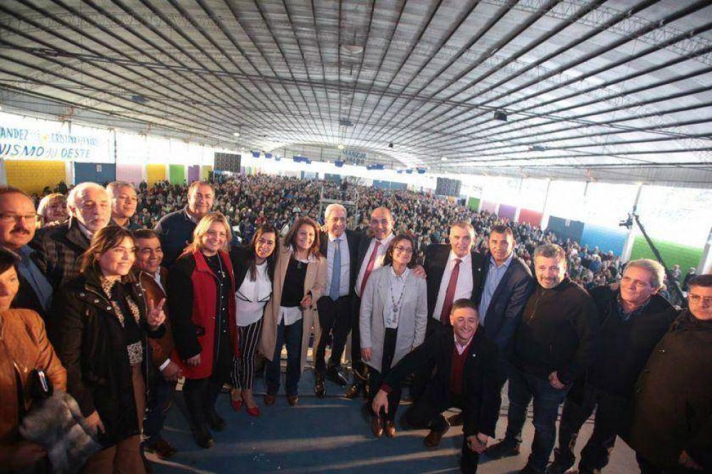 Manzur convocó a sindicalistas para apoyar la candidatura de Alberto Fernández