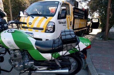 Sin habilitación, secuestraron un vehículo que hacía delivery de combustibles