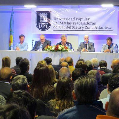 Lanzaron Universidad Popular de los y las Trabajadoras de Mar del Plata y Zona Atlántica