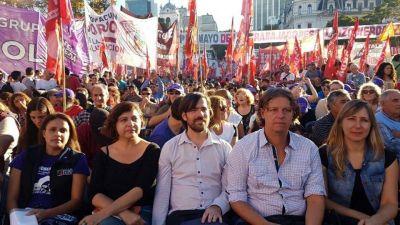 El sindicalismo de izquierda se mostrará con Del Caño para llamar a votar contra el ajuste y el FMI