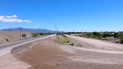 Albardón prepara un acueducto sin precedentes en el departamento