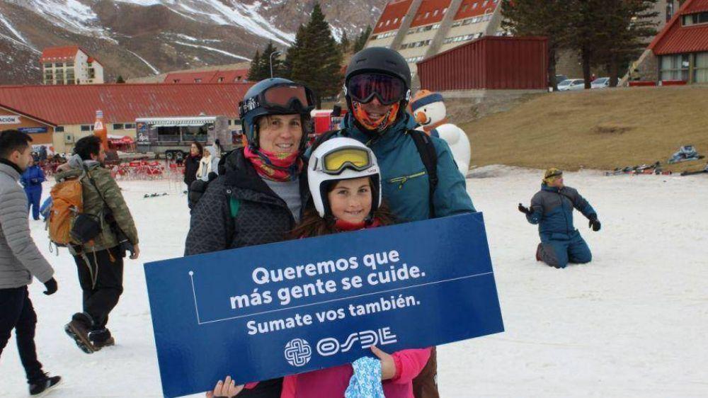 Valle de Las Leñas, zona cardioprotegida por acuerdo con OSDE