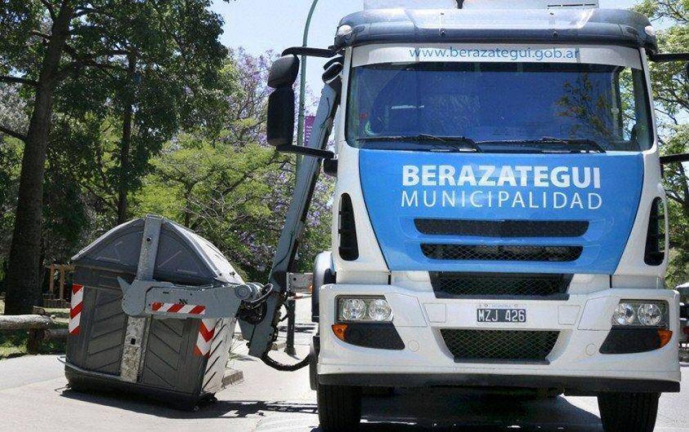 Berazategui: mejoraran sistema de recolección de residuos