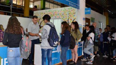 El lunes abren la reinscripción al Boleto Estudiantil Gratuito