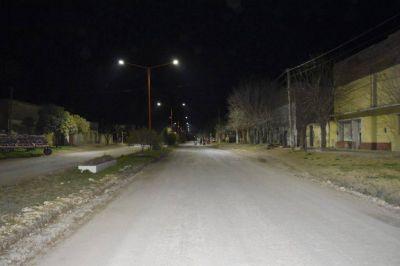Comenzó el recambio de luminarias en Juan N. Fernández