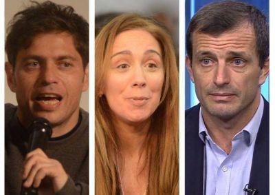 Cómo será la última semana de campaña para los tres principales candidatos a la Gobernación