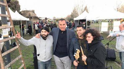 La Plata: Desde Meridiano V, Guillermo Escudero presentó su plataforma cultural