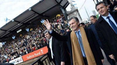 Macri, Vidal y Rodríguez Larreta en la inauguración de La Rural: foto de campaña y expectativa por el discurso presidencial