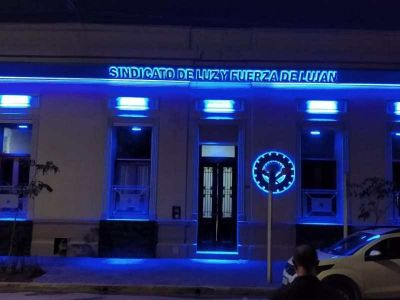 Quedó inaugurada la nueva sede del Sindicato Luz y Fuerza